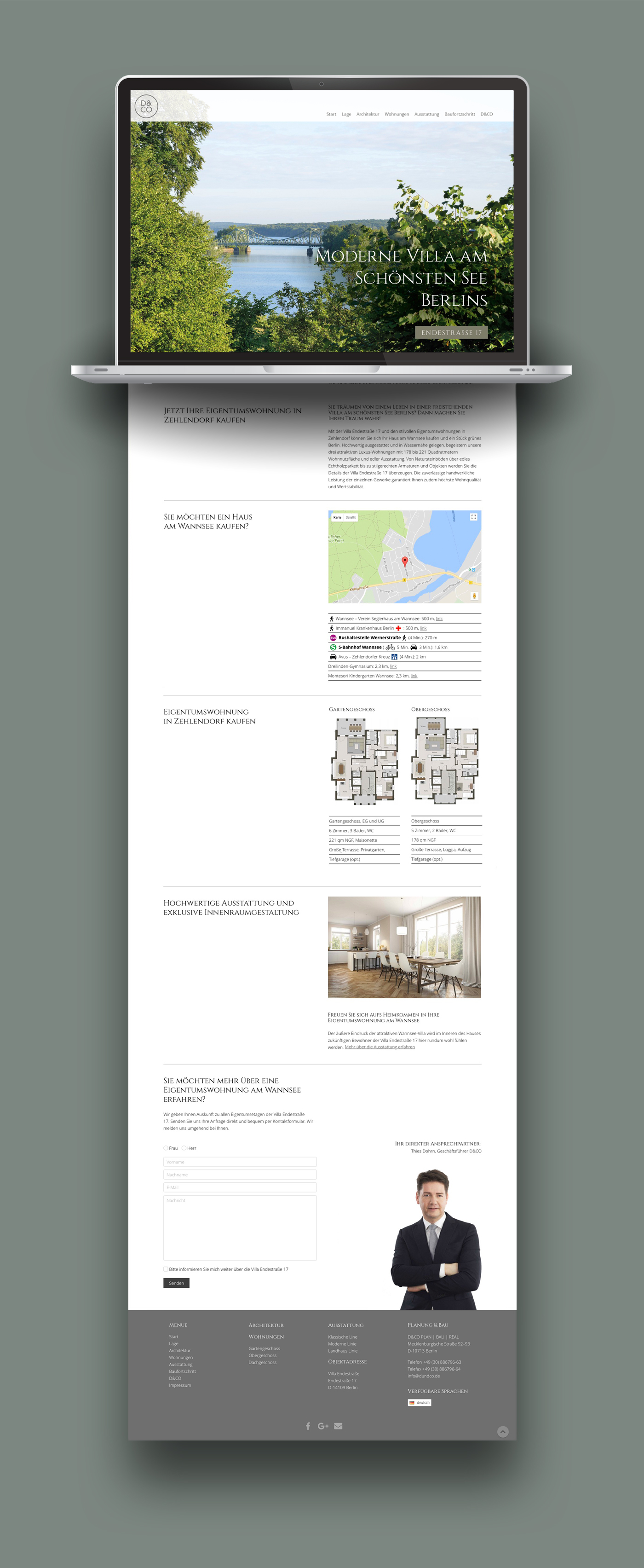Immobilien-Website Berlin